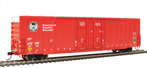 Walthers 910-2991 60' High Cube Plate F Boxcar CP Canadian Pacific #218145 HO Scale