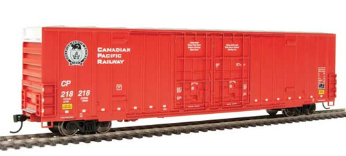 Walthers 910-2992 60' High Cube Plate F Boxcar CP Canadian Pacific #218218 HO Scale