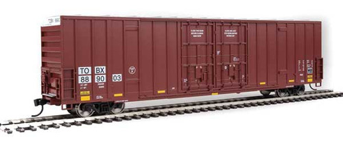 Walthers 910-3002 60' High Cube Plate F Boxcar TTX - TBOX #889003 HO Scale