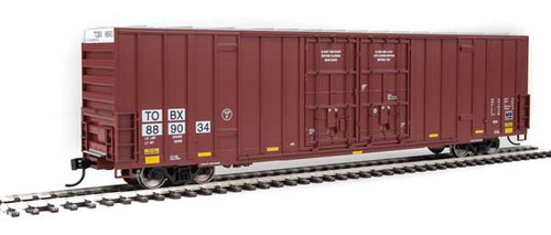 Walthers 910-3003 60' High Cube Plate F Boxcar TTX - TBOX #889034 HO Scale