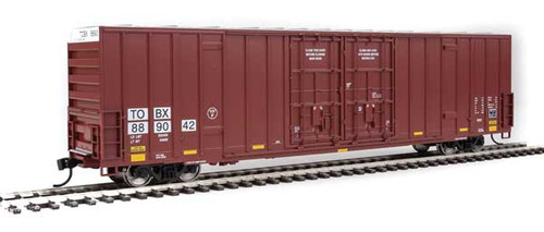 Walthers 910-3004 60' High Cube Plate F Boxcar TTX - TBOX #889042 HO Scale