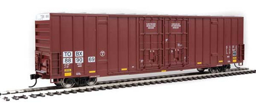 Walthers 910-3005 60' High Cube Plate F Boxcar TTX - TBOX #889069 HO Scale