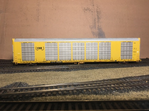 Scaletrains SXT32140 CW Custom Weathered Multi-Max Autorack - CTTX - CSX #692584 HO Scale