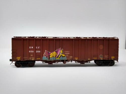 Scaletrains SXT31997 CW Custom Weathered GATC 4180cf Airslide Covered Hopper BNSF - Burlington Northern Santa Fe #808268 HO Scale