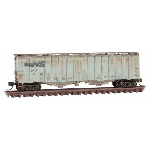 Micro Trains 993 05 830 Weathered 3 car Pack - NS - Norfolk Southern ex Southern N Scale