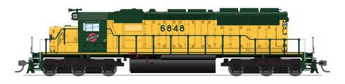 BLI 6781 SD40-2 C&NW - Chicago & North Western #6867 Broadway Limited Paragon 4 w/Sound & DCC HO Scale