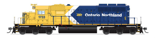 BLI 6788 SD40-2 ON - Ontario Northland #1733 Broadway Limited Paragon 4 w/Sound & DCC HO Scale