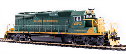 BLI 6793 SD40-2 RBMN - Reading Blue Mountain & Northern #3057 Broadway Limited Paragon 4 w/Sound & DCC HO Scale