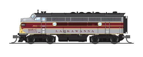 Broadway Limited 3789 EMD F3A, DLW 805C, Maroon/Gray/Yellow Scheme, Paragon3 Sound/DC/DCC, N Scale