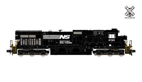 Scaletrains SXT32566 GE Dash 9-40C NS - Norfolk Southern/Thoroughbred (Run 3) #8791 ESU LokSound DCC & Sound Rivet Counter N Scale