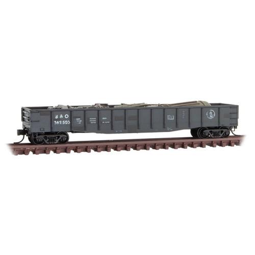 MICRO TRAINS 993 05 960 B&O - Baltimore & Ohio Weathered 2-Pack N Scale