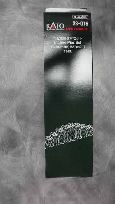Kato 23-015 Single Track Incline Pier Set 15mm-50mm