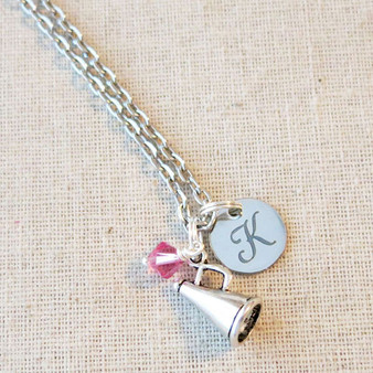 SENIOR Cheer Necklace - Custom Cheerleading Squad Gifts