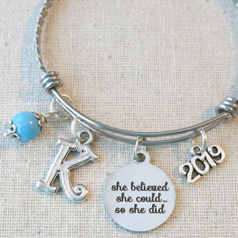 2019 Graduation Gift - She Believed She Could So She Did Inspirational Gifts for Graduation