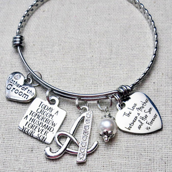 Mother of the GROOM Gift - Love Between a Mother And Her Son is Forever