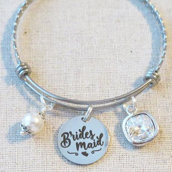 Bridesmaid Crystal Bracelet - Bridesmaid Proposal Gift