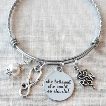 She Believed She Could So She Did RN Graduation Gift