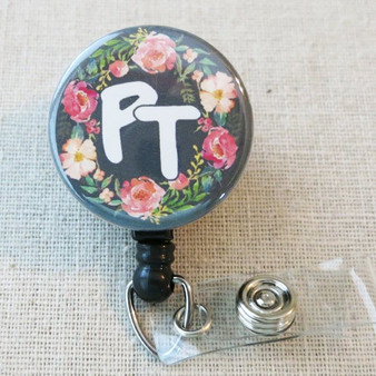 Physical Therapist Badge Reel - PT Therapist Student Graduation Gift, Physical Therapist Thank You Gifts