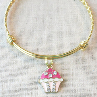 HAPPY BIRTHDAY Charm Bracelet, Little Girls Birthday Charm Bracelet, Daughter Granddaughter Birthday Gift, Birthday Gift for Teenage Girl