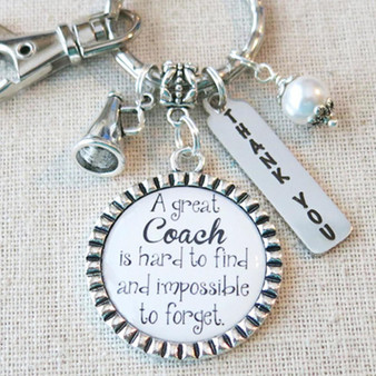 CHEER COACH Gift, Custom Cheer Coach Keychain, Coach Gifts from Cheer Team, Cheer Coach Thank You Gift, Cheerleader Coach Appreciation Gift