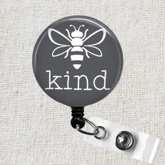 Be KIND Badge Reel, Be Kind Teacher Badge Reel, Medical ID Badge Reel, Nurse Badge Clip, RN Name Badge Holder, Be Kind Name Badge Holder
