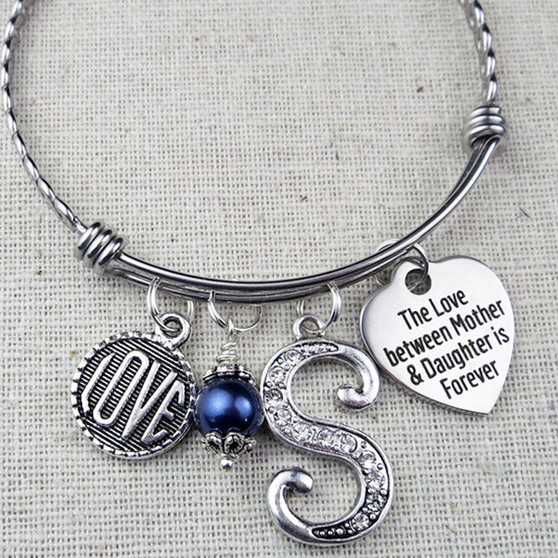 The Love Between Mother & Daughter is Forever - Mother Daughter Keepsake Gift