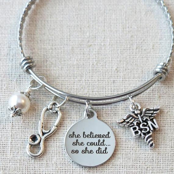 She Believed She Could So She Did BSN Graduation Gift
