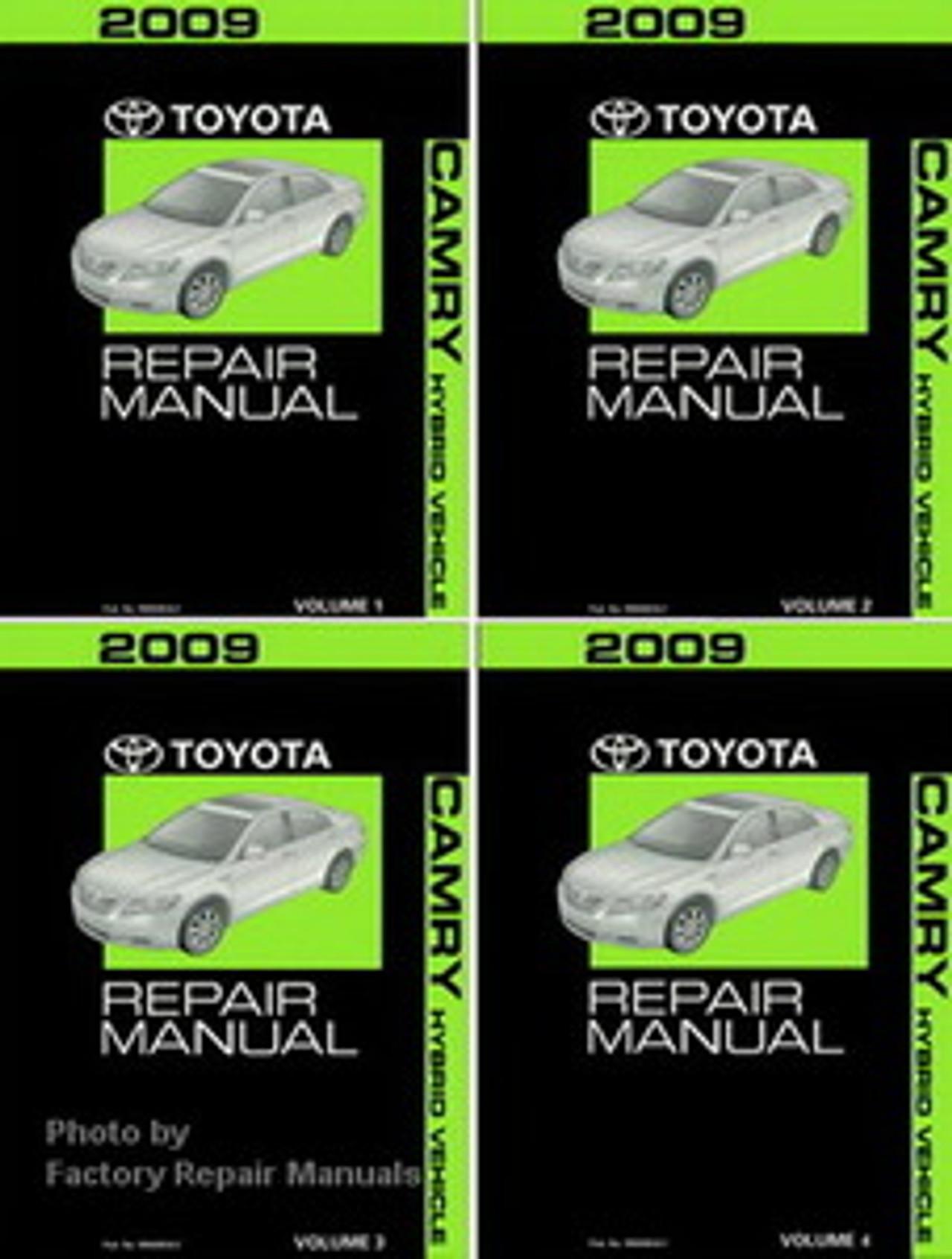 2009 Toyota Highlander Electrical Wiring Diagrams Original