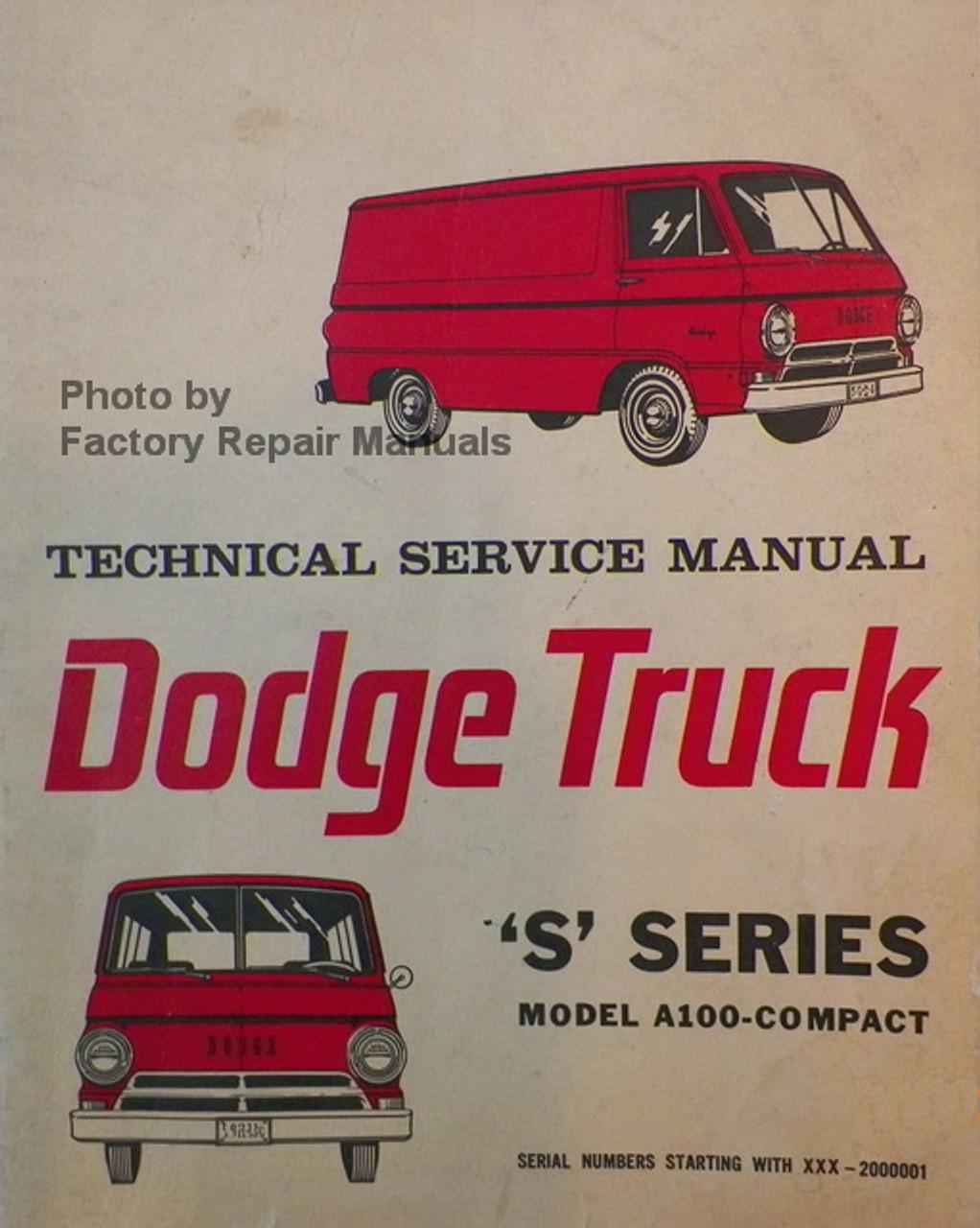 A Dodge Van Wiring Diagram on