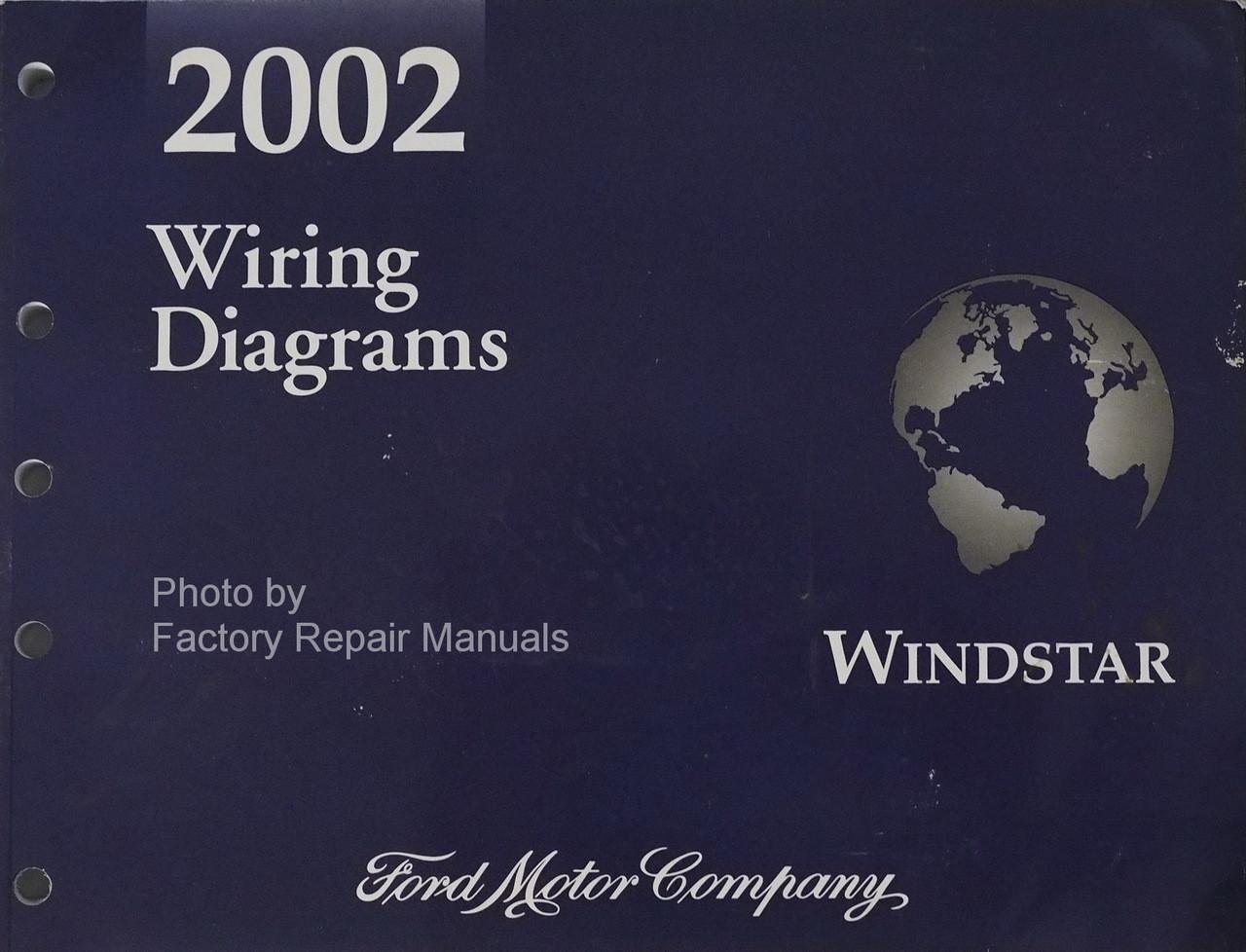 [SCHEMATICS_44OR]  2002 Ford Windstar Electrical Wiring Diagrams Original Manual - Factory  Repair Manuals | Wiring Diagram For Ford Windstar |  | Factory Repair Manuals