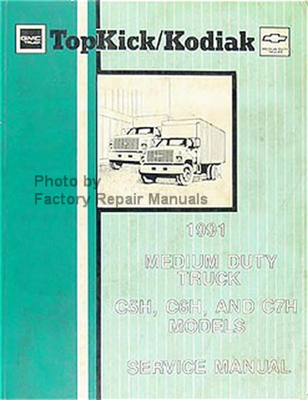 1991 gmc topkick wiring diagram 1991 chevy kodiak gmc topkick truck factory service manual  1991 chevy kodiak gmc topkick truck