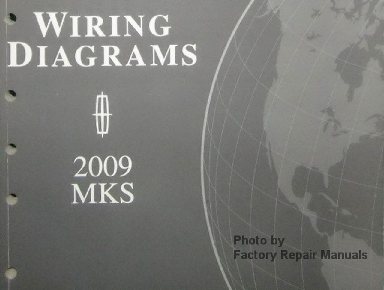 2009 Lincoln MKS Electrical Wiring Diagrams - Original Ford Manual -  Factory Repair ManualsFactory Repair Manuals