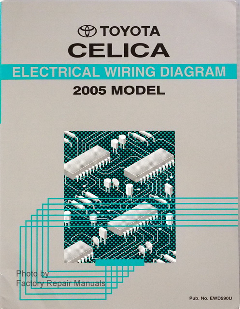 2005 Toyota Celica Electrical Wiring Diagrams Original
