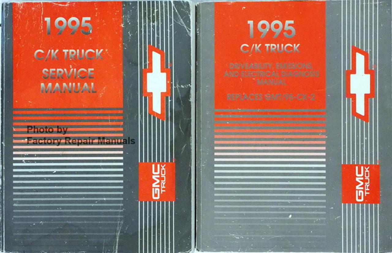 1995 Chevy Gmc C K 1500-3500 Truck Tahoe Suburban Yukon Shop Service Manual Set