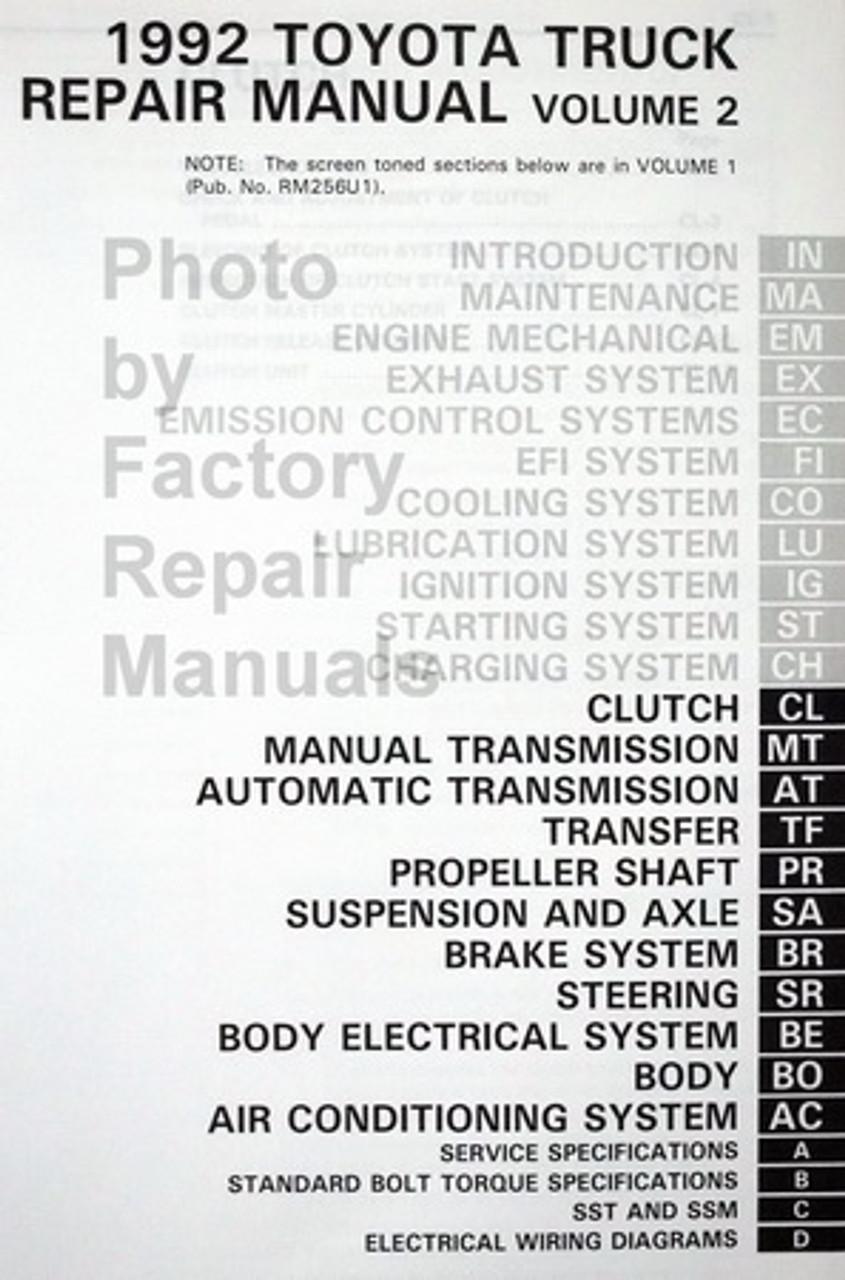 [DIAGRAM] 2002 Toyota Highlander Service Shop Repair ...