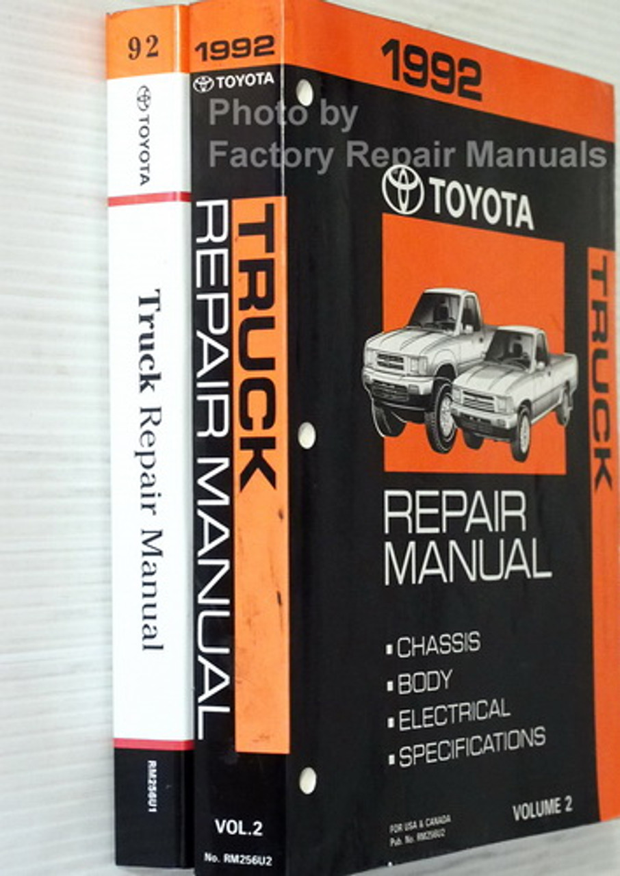 DIAGRAM 199toyota Tercel Service Shop Repair Manual Set ...