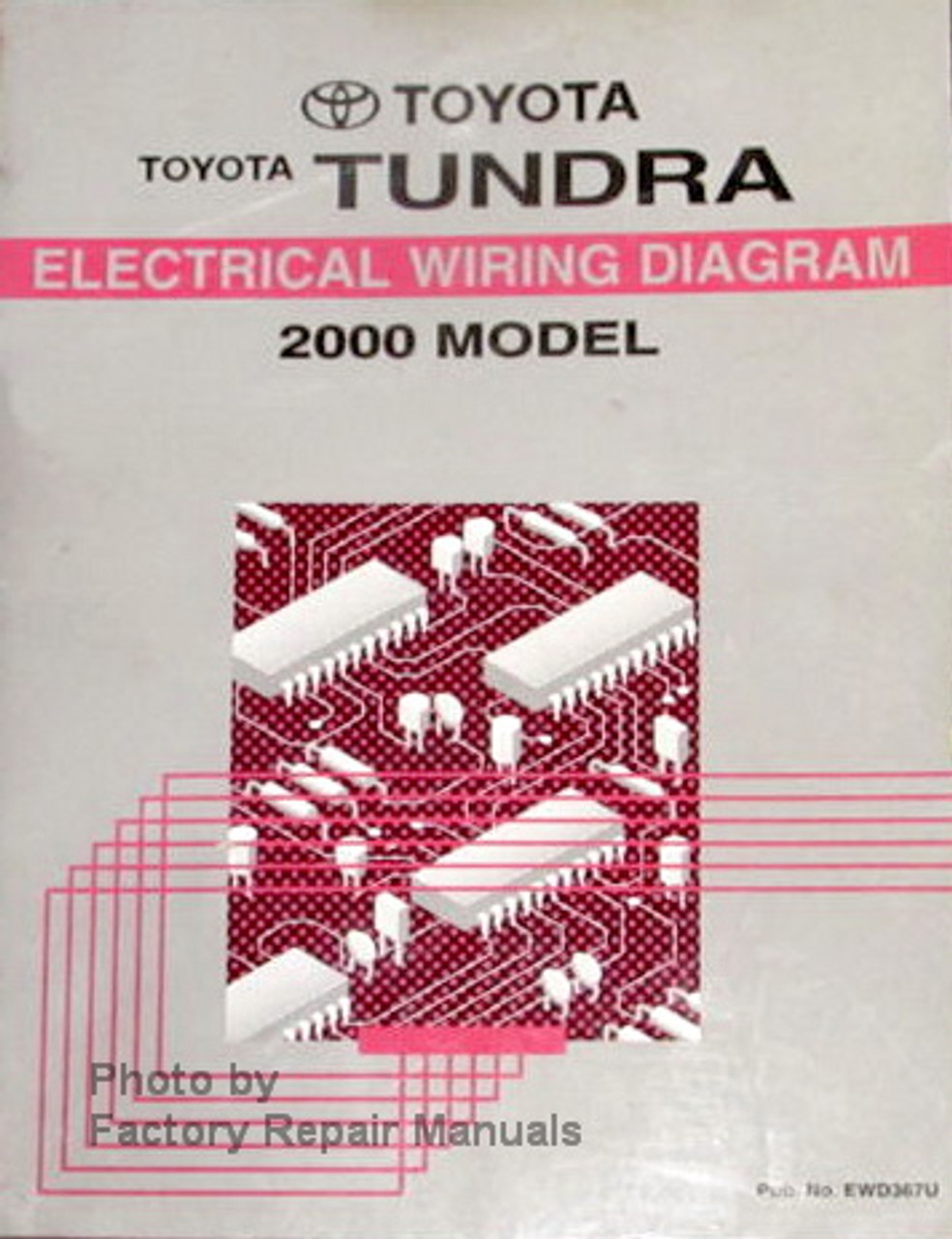 2000 Toyota Tundra Truck Electrical Wiring Diagrams