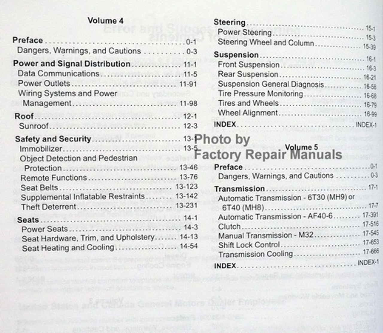 2015 Chevy Cruze Factory Service Manual Set Original Shop
