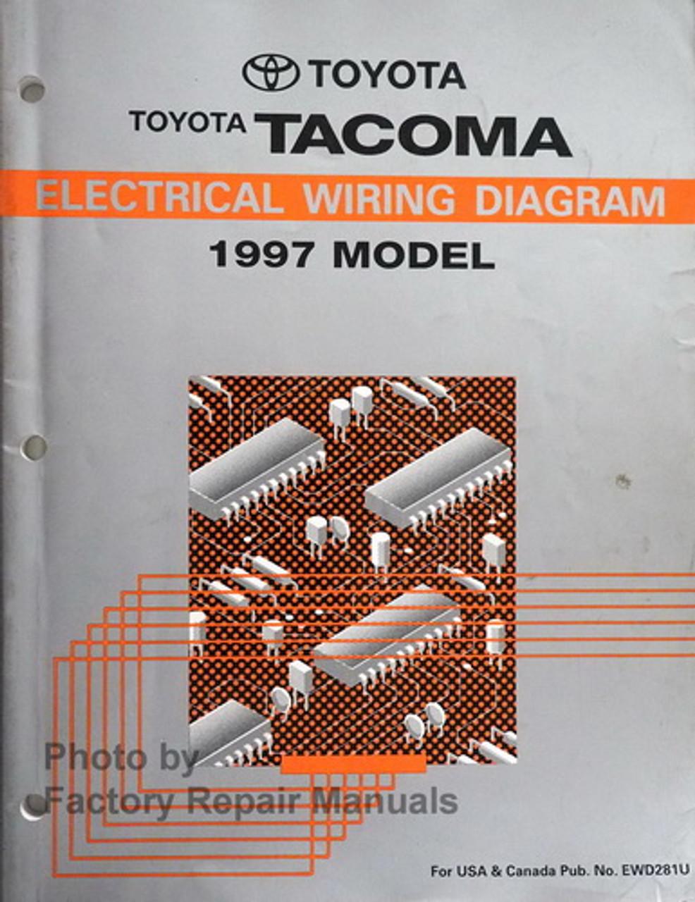 1997 Toyota Tacoma Electrical Wiring Diagrams Original Factory Manual -  Factory Repair Manuals | 1997 Toyota Tacoma Wiring Diagram |  | Factory Repair Manuals