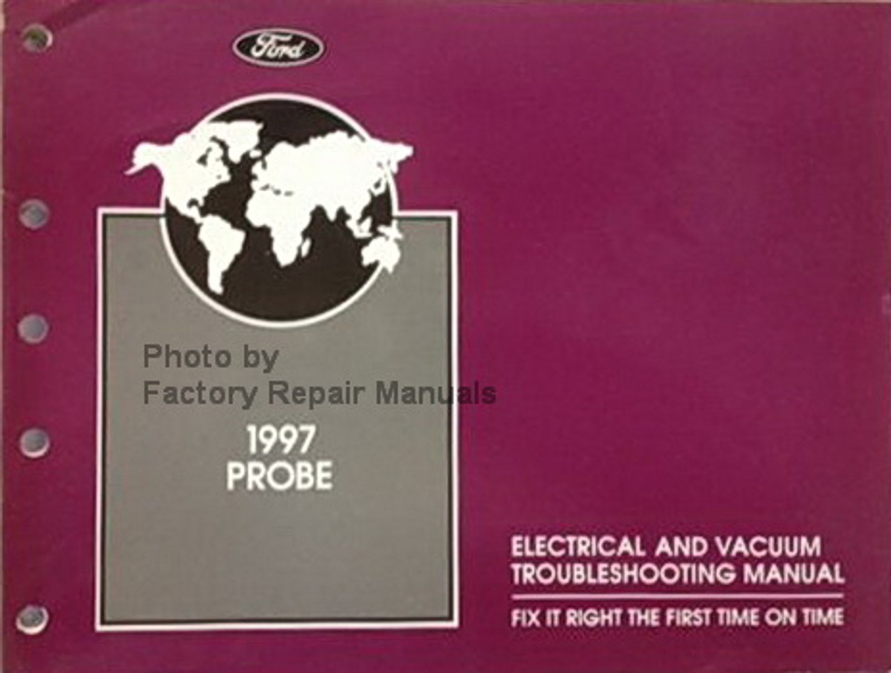 ford probe wiring diagrams 1997 ford probe electrical   vacuum troubleshooting manual wiring  1997 ford probe electrical   vacuum