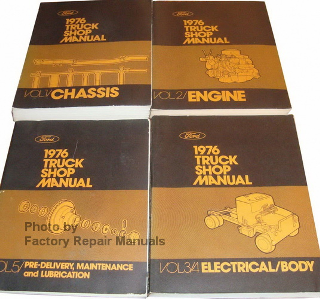 76 1976 Ford Econoline owners manual