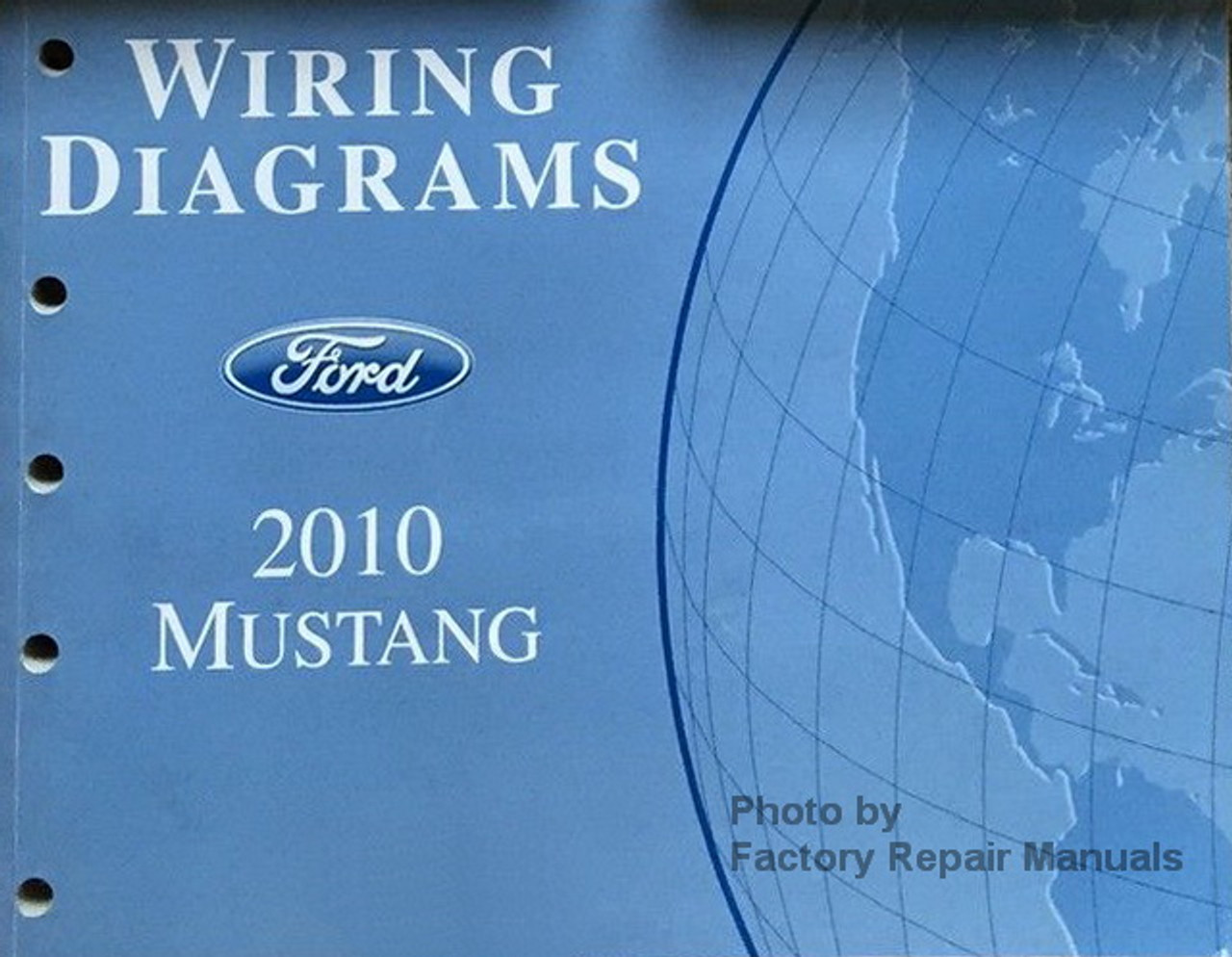 2010 Ford Mustang & Shelby GT500 Electrical Wiring Diagrams Manual -  Factory Repair Manuals | Gt 500 Wiring Diagram |  | Factory Repair Manuals