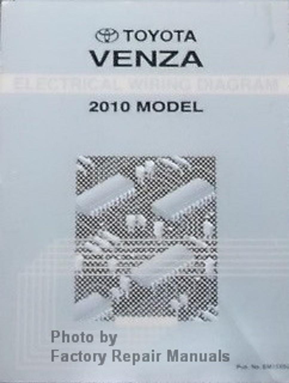 2010 Toyota Venza Electrical Wiring Diagrams Original