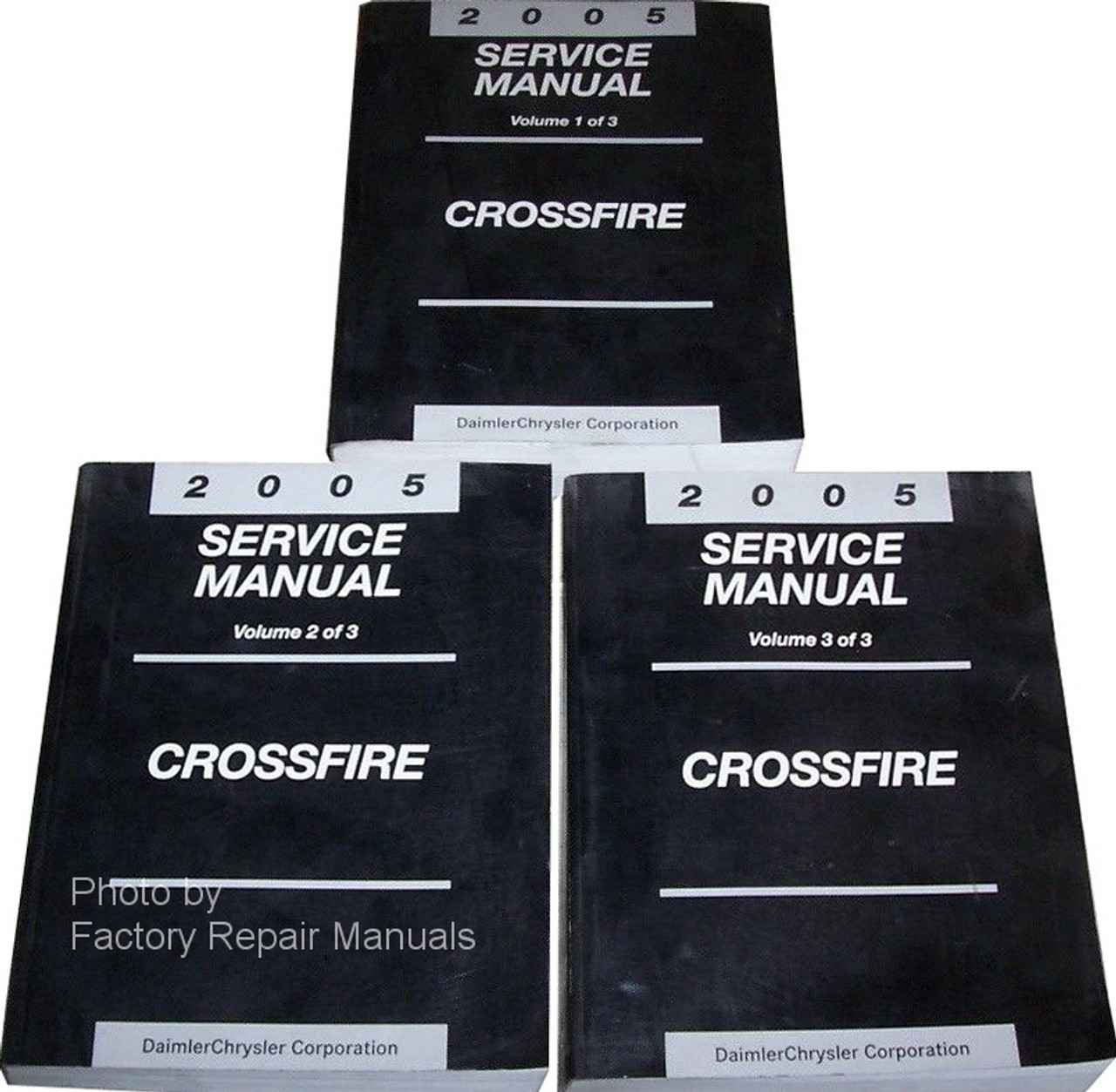 2005 Chrysler Crossfire Factory Service Manual Set