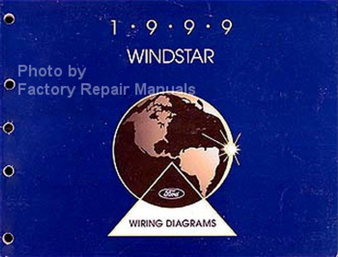 1999 Ford Windstar Electrical Wiring Diagrams Original Manual - Factory  Repair ManualsFactory Repair Manuals