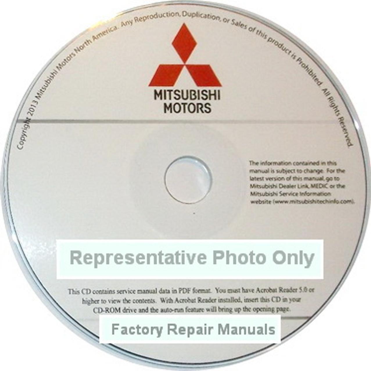 2017 Mitsubishi Mirage Hatchback Factory Service Manual CD Original Shop  Repair