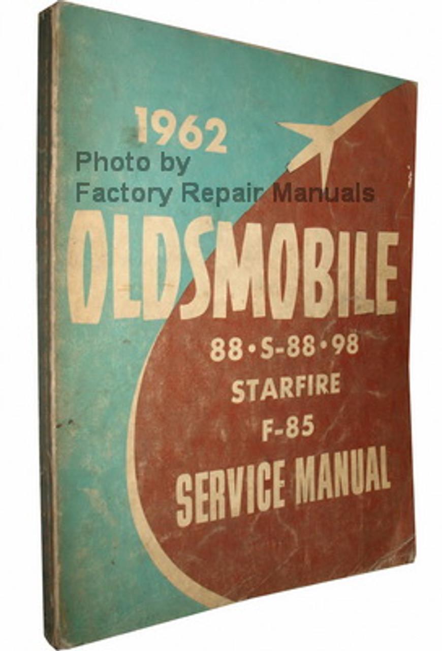 1962  OLDSMOBILE 88//S-88//98//F-85//STARFIRE  SHOP MANUAL