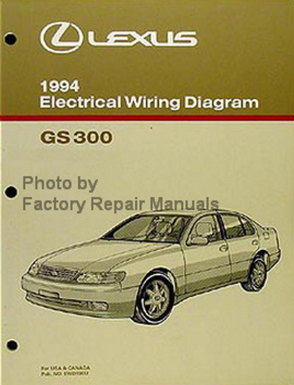1994 lexus gs300 wiring diagram 1994 lexus gs300 electrical wiring diagrams gs 300 original manual  lexus gs300 electrical wiring diagrams