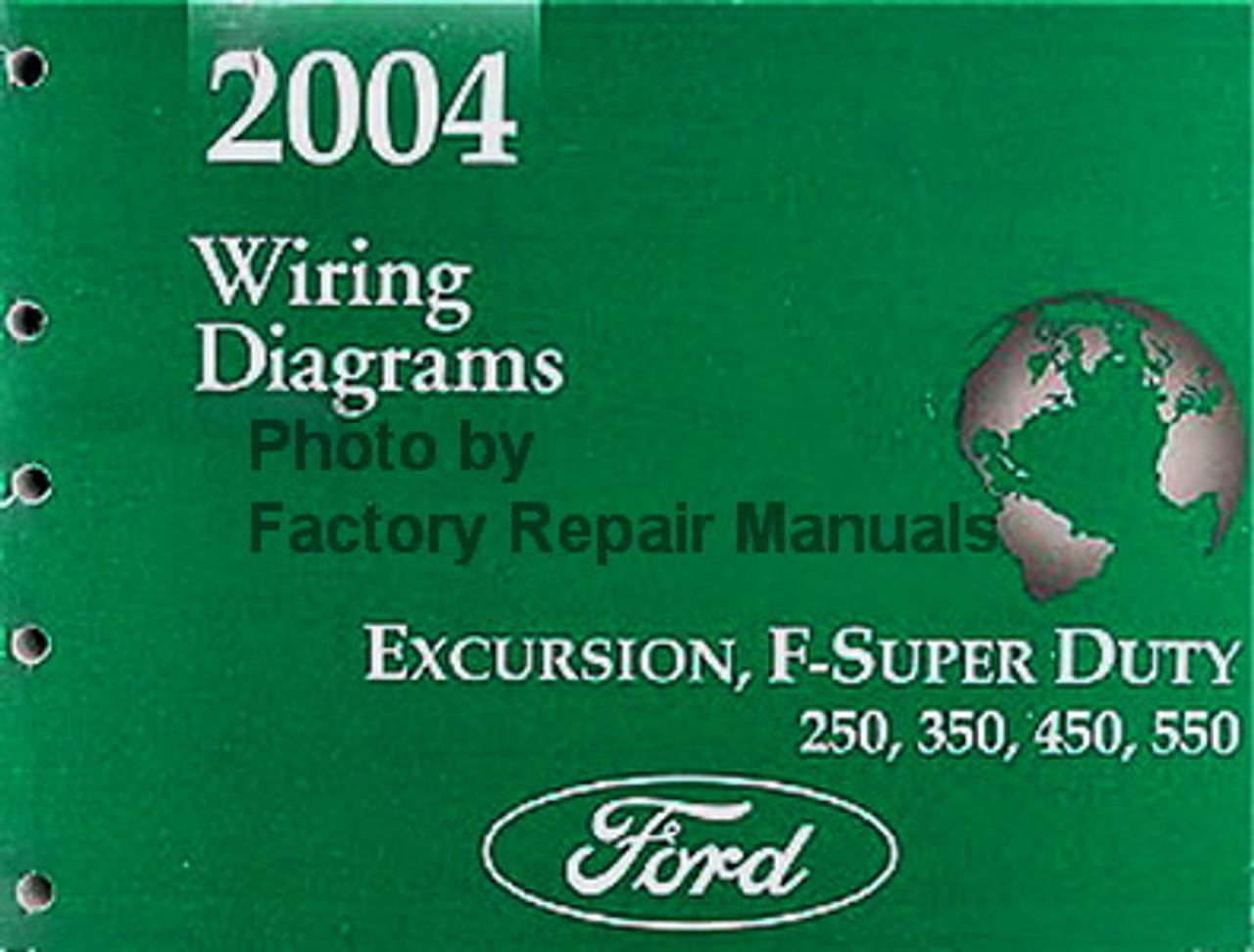 2004 Ford F250 F350 F450 F550 Super Duty Truck  U0026 Excursion