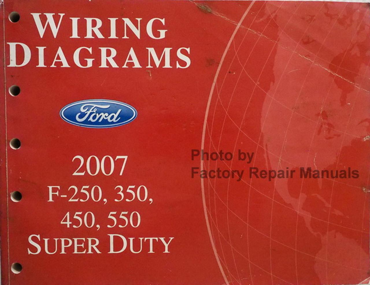 [SCHEMATICS_4LK]  2007 Ford F250 F350 F450 F550 Super Duty Electrical Wiring Diagrams -  Factory Repair Manuals | Wiring Diagram For Ford F250 |  | Factory Repair Manuals